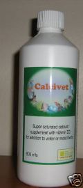 CALCIVET 500ml SOLUBLE CALCIUM SUPPLEMENT - Birdcare Co